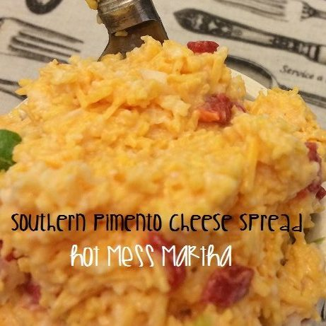 Southern Pimento Cheese Spread