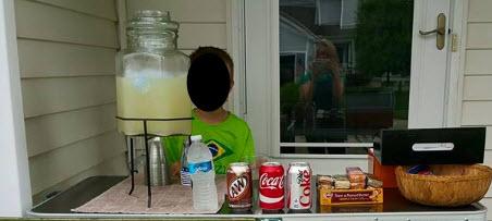 proper lemonade stand