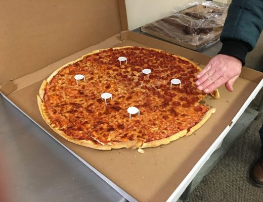 Largest pizza I've ever seen