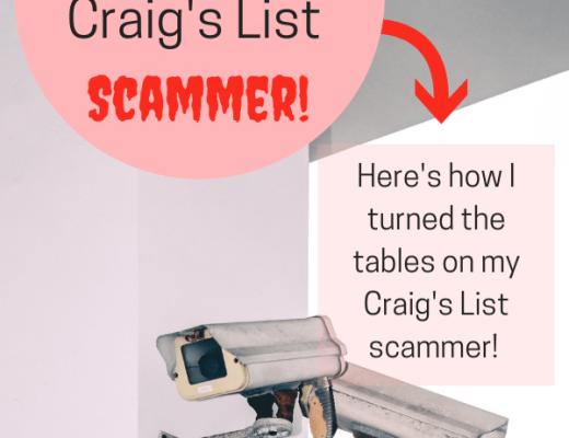 Craigs List Scammer