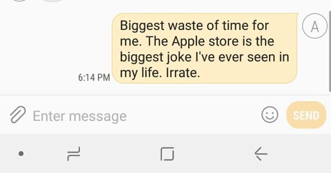 Apple Text