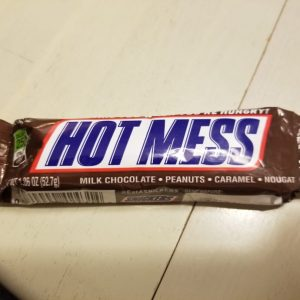 hot mess snickers