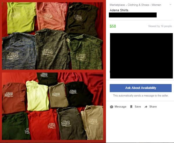 Adena Shirts