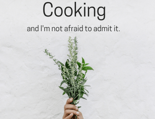 I hate cooking