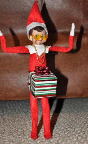 Dick in the box Elf