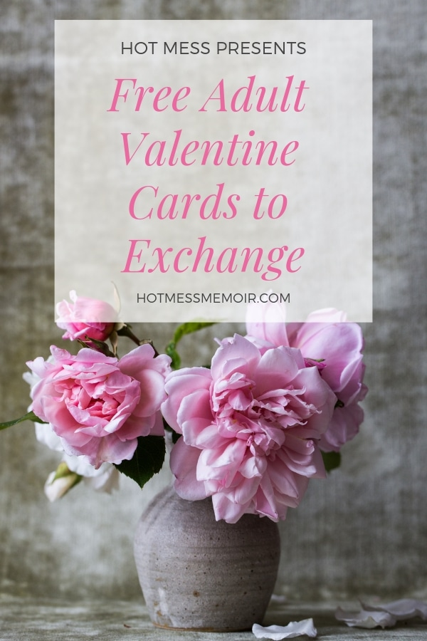 Free Adult Valentine Cards to Exchange