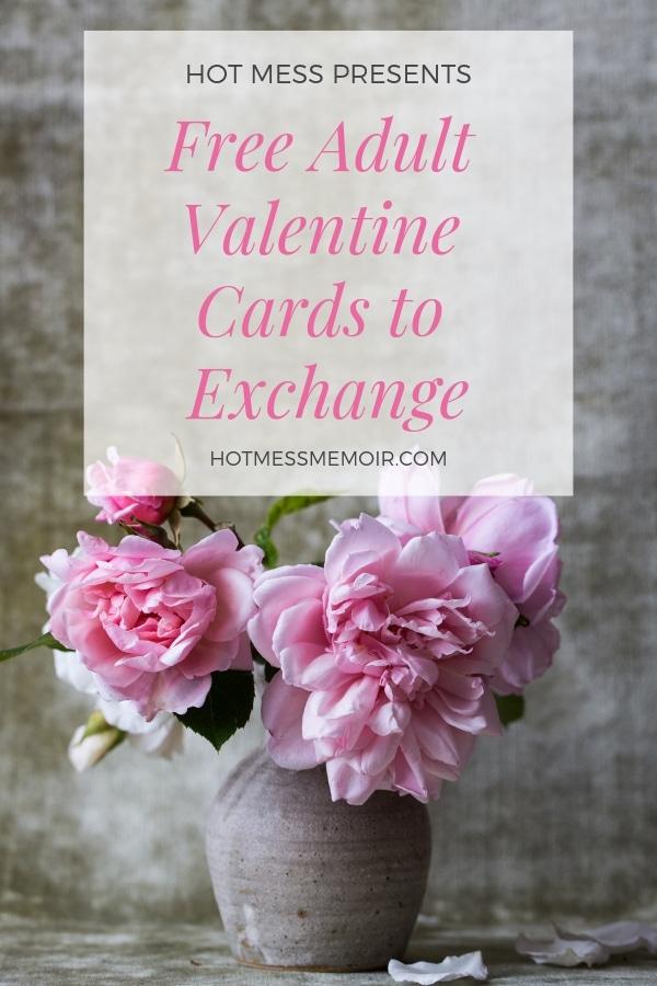 Free Adult Valentine Cards to Exchange