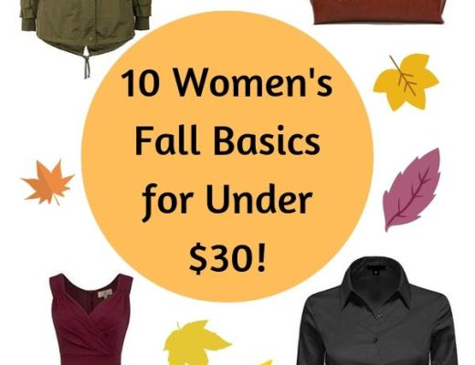 women's fall basics