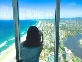 Allira Cohrs at SkyPoint Observation Deck for Hot & Delicious: Rocks The Planet