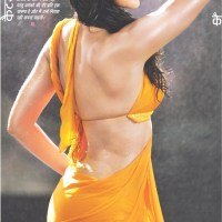Katrina Kaif wet and backless in saree!!