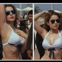 Kangana Ranaut hot in white bikini..hd