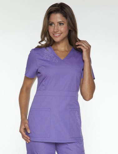 Women's Orange Brand Nursing Scrubs