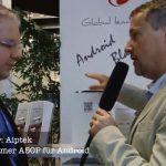 Aiptek Pocketbeamer A50P für Android mit Micro USB und HDMI mit Interview – IFA 2012
