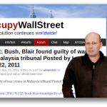 Kuala Lumpur War Crime Dribunal – G.W.Bush und Tony Blair Verurteilt