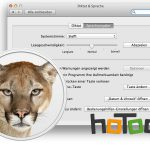 Deutsche Sprachausgabe in Mac OS X Mountain Lion