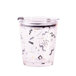 Mid-sized Glass Tumbler (Confetti)