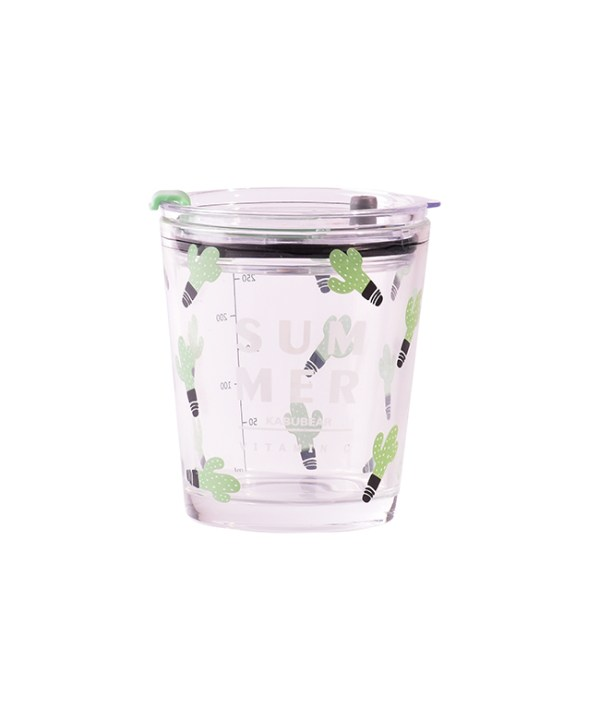 Mid-sized Glass Tumbler (Cactus)