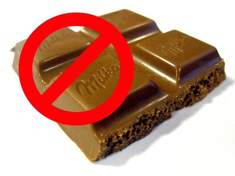 No Chocolate For Dogs!