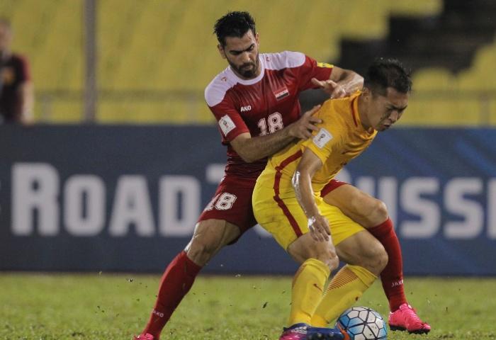 Futebol China   Apuramento Mundial 2018   8ª Jornada