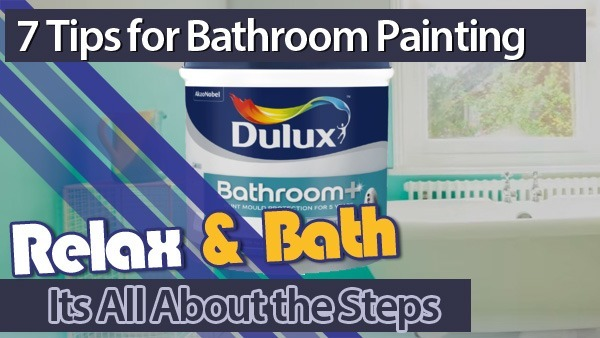 7 Simple Tips for Painting Your Bathroom