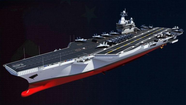 目标2035!500架隐身战机8艘航母20艘战略核潜艇,中国军力踏步迈进