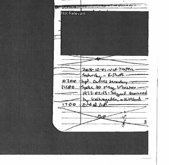 迪伦在工作笔记上标记了孟晚舟的个人信息,显然知道孟是重要人物