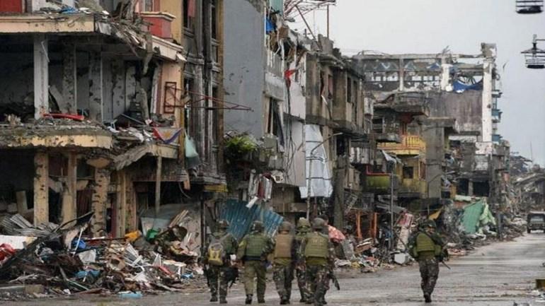 菲律宾军队中规中矩的战斗,150天的鏖战,粉碎武装分子的美梦