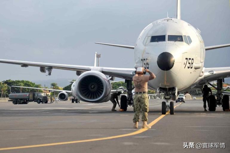 驻日美军左右开弓,新锐反潜机南海东海同时挑衅,誓不给中国喘息机会