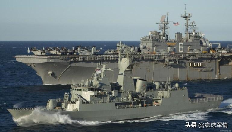 澳大利亚护卫舰悍然闯入东海,加拿大反潜机空中警戒,专家:一丘之貉