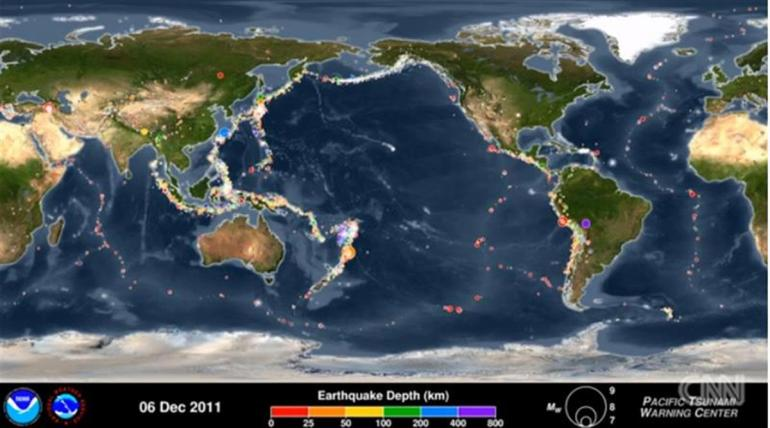 不可思议,美国一地1天发生600多次地震