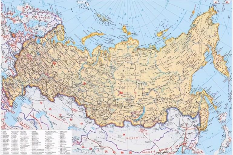 俄罗斯领土面积世界第一,有效国土仅排第三,中、美能排第几?