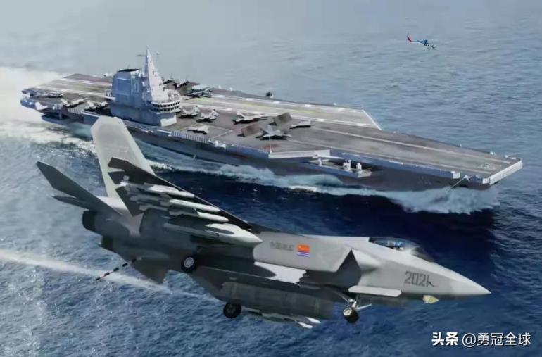 """中国第三艘航母到底有多""""牛"""",为何敢叫板美国最先进航母?"""