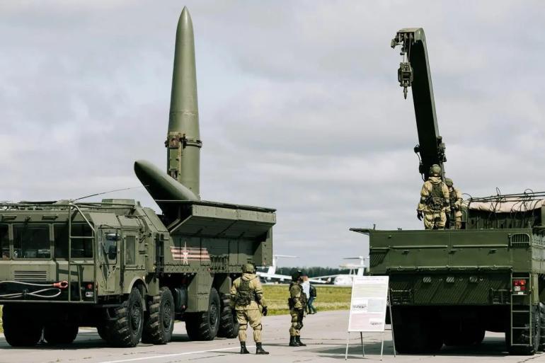 """""""圣甲虫""""PK""""亚历山大""""?乌克兰演练弹道导弹,寻衅将受到反击"""