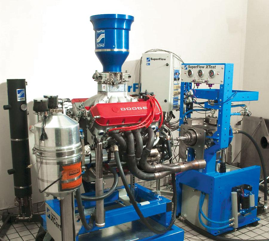 Hot rod engine tech engine dyno testing hot rod engine tech for Dynamometer for motor testing