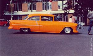 """Scott Sullivan's Cheese Wiz"""" '55 Chevy Pro Streeter"""