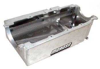 wet sump pan