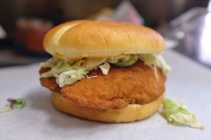 mandy_sf Cod Fish Sandwich