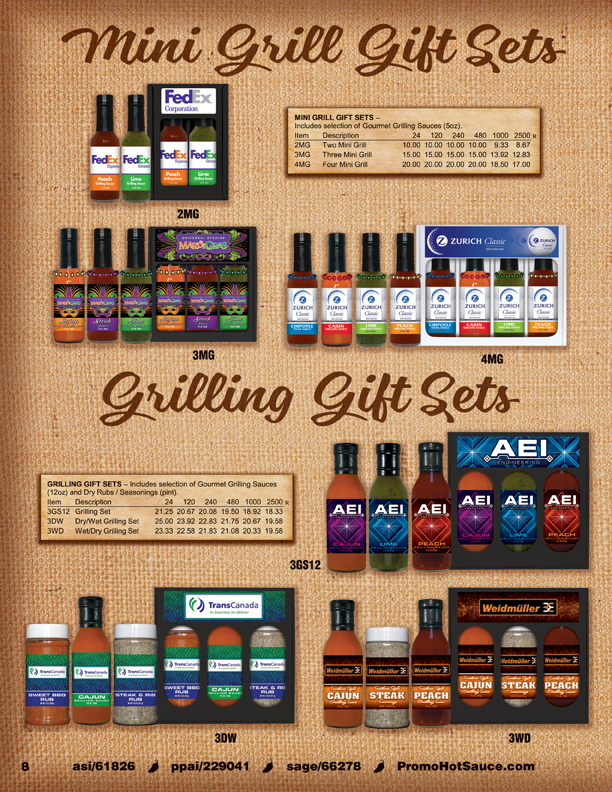 Page 8 - Grilling Gift Sets