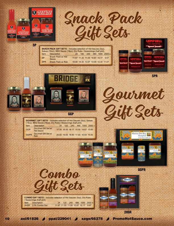 Page 10 - Gourmet Gift Sets