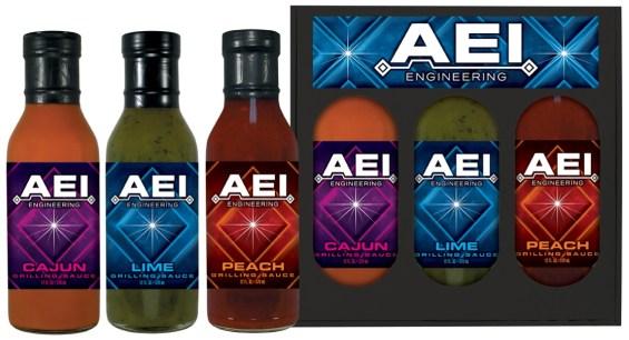 3GS12 - Three Pack Grilling Sauce Set - Engineering - AEI
