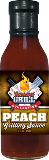 GS12P - Peach Grilling Sauce (12oz) - Rivers Casino