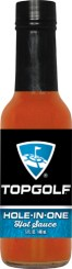 HS5H - Habanero Hot Sauce (5oz) - Top Golf