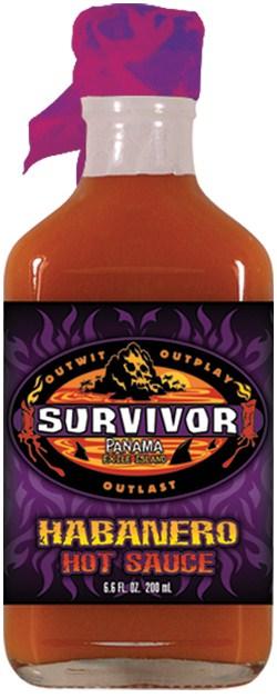 HS6H - Habanero Hot Sauce (6.6oz Flask)