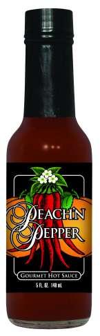 HS5P - Peach Hot Sauce (5oz)