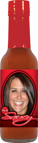 HS5H - Habanero Hot Sauce (5oz) - Bridal Shower