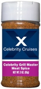 R3C - Cajun Dry Rub (3oz) - Hospitality - Celebrity Cruises