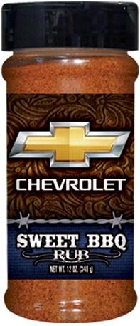 R8B - Sweet BBQ Rub (half pint) - Auto - Chevrolet
