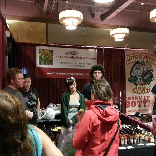The Chesterville Pepper Company Booth