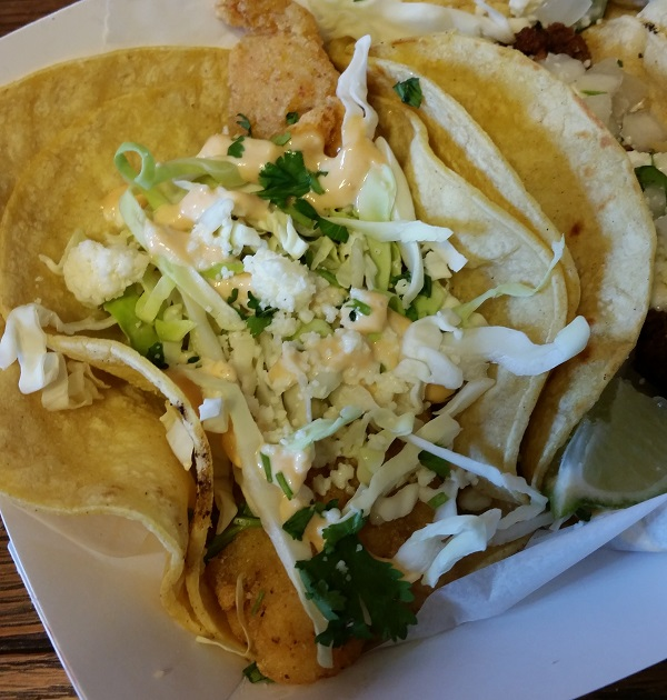 Holy Mole Food Truck's Fish Taco