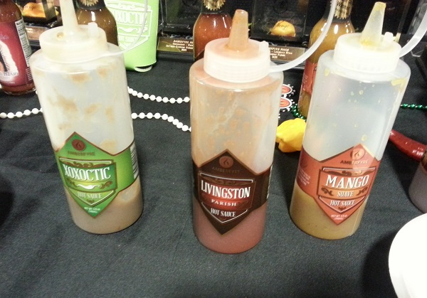 Amberfyre Foods Hot Sauces